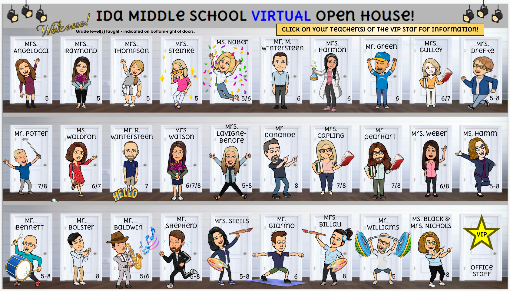 Middle Schools Virtual Open House